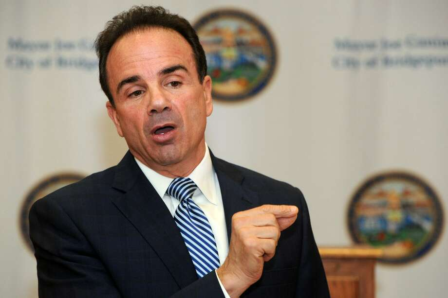 Mayor Joe Ganim earned $152,876 in 2017. Click through to see the ten highest-paid employees in Bridgeport.  Photo: Ned Gerard / Hearst Connecticut Media / Connecticut Post