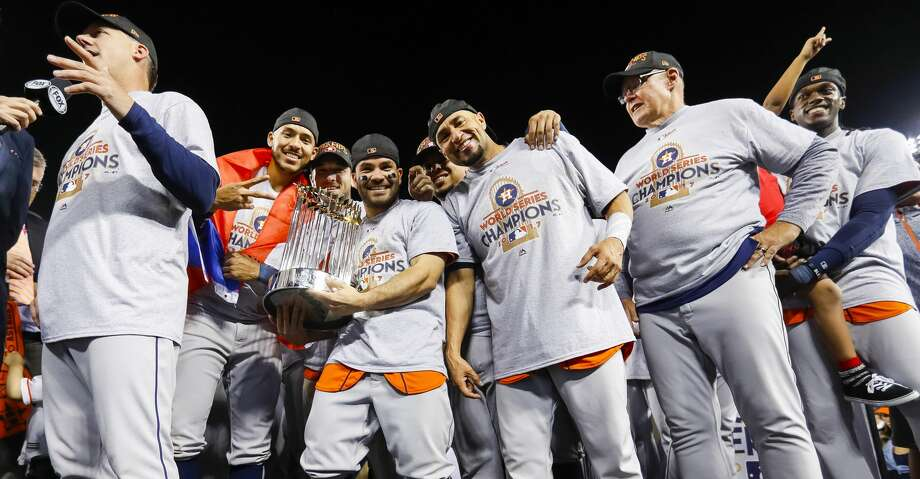 There's no reason not to expect the Astros to celebrate again in 2018. Photo: Karen Warren/Houston Chronicle