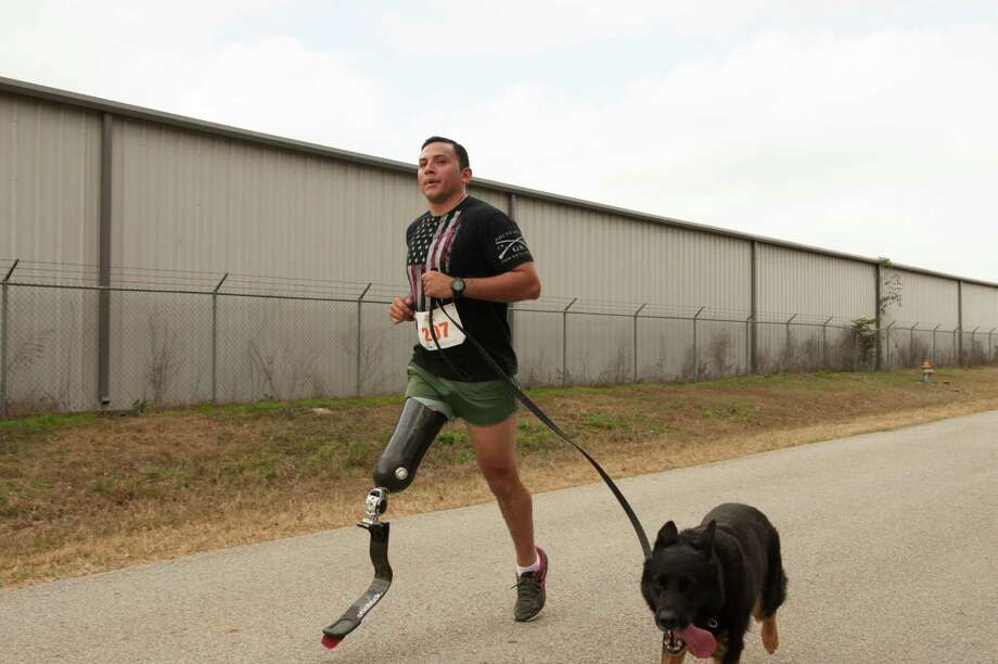As of Thursday, 106 people had already registered for the the second annual Miles for Meals 5K run and walk benefiting Meals on Wheels Montgomery County set for Feb. 17 at the B-52 Brewing Company at 12470 Milroy Lane in Conroe.  Last year, the event sold out with 500 runners, including Jesse Medina with Argo. Photo: Submitted Photo / © 2017 Jeff & Jennifer Powers