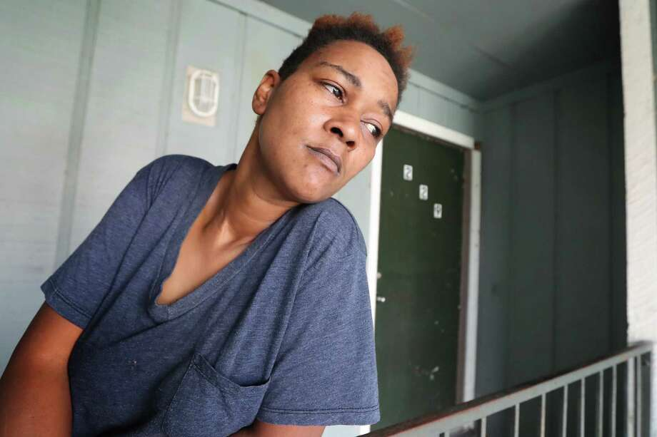 Cherika Argus, one of the victims of the Briscoe's Place fire, an unregulated rooming house with 20 or so windowless bedrooms rented out to people who needed a cheap place to live, talks about life after the fire Wednesday, Dec. 20, 2017, in Houston. ( Steve Gonzales / Houston Chronicle ) Photo: Steve Gonzales, Houston Chronicle / © 2017 Houston Chronicle