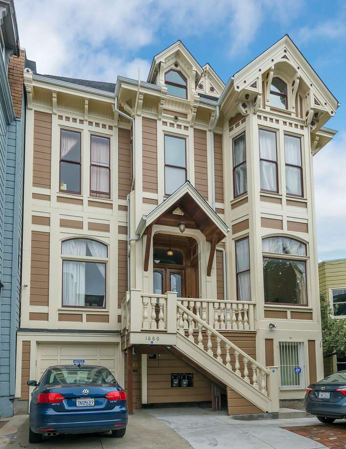 1880 Turk St. is a nine-bedroom Victorian available for $3.9 million. Photo: Olga Soboleva / Vanguard Properties