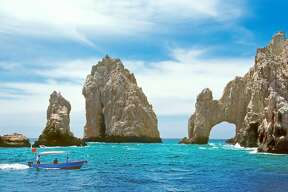 Los Cabos:    Where:  Mexico   Reason to visit:  Thriving beach town, and high-end eateries and hotels.