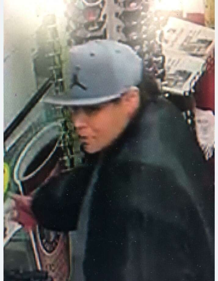 East Haven Police are requesting the public's help to locate a woman who is said to have robbed the Citgo at 957 Foxon Road in East Haven on Thursday. Photo: East Haven Police / Submitted Photo