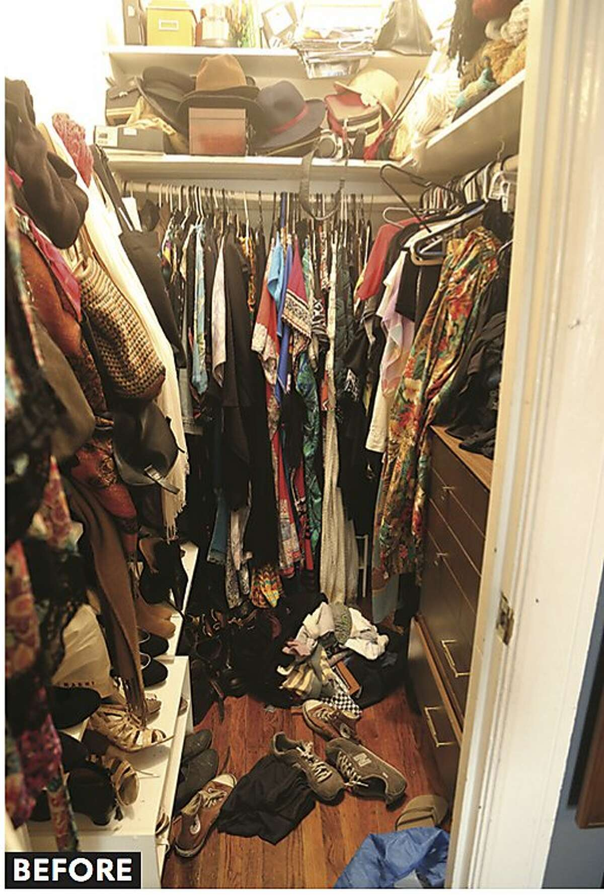 """Decluttering experts Cary Telander Fortin and Kyle Louise Quilici have put together a guide to streamlining your life --� """"New Minimalism,"""" 195 pages, Sasquatch Books, -- which hit bookstores on Jan. 2, 2018. The book contains a few before and after photos, as well as tips for helping people determine and deal with mental and emotional stumbling blocks to getting rid of possessions and clutter."""