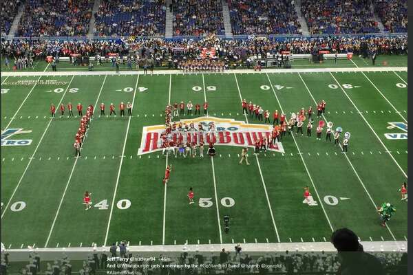 The Stanford Band appeared to offend everyone in Texas with their Alamo Bowl half-time show Thursday Dec. 28, 2017.
