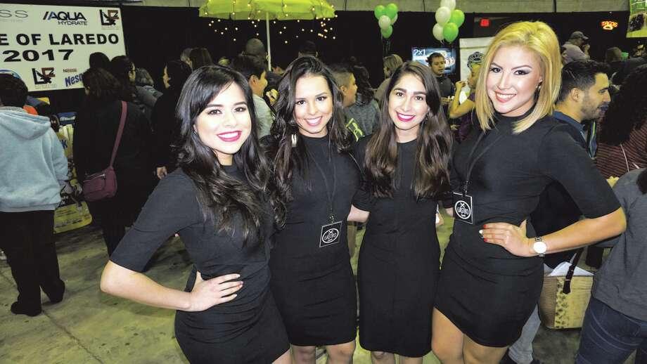 Samantha Rivera, Michelle Ferreyro, Kayla Vasquez and Edith Cruz at 2017 WBCA Taste of Laredo at the LEAFriday, December 29, 2017 Photo: JG MORALES