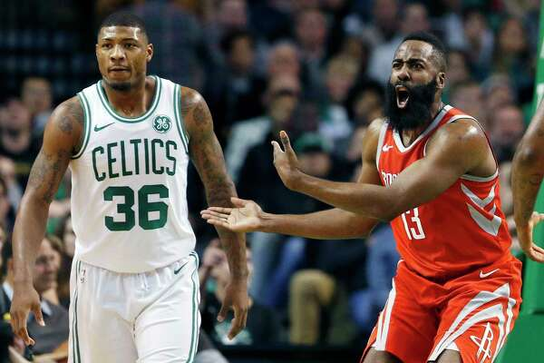 44c183129f8 Rockets wrap up a gift win for Celtics - HoustonChronicle.com