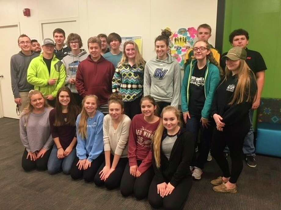Students at Dow High participate in Toastmaster's International Youth Leadership. (Photo provided)