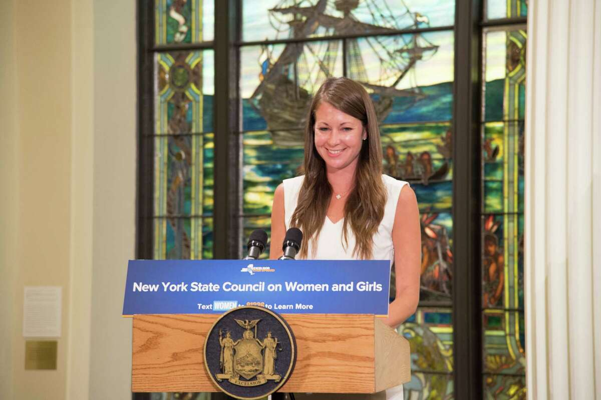 Melissa DeRosa, secretary to Gov. Andrew Cuomo, was named chair of the New York State Council on Women and Girls. (Executive Chamber)