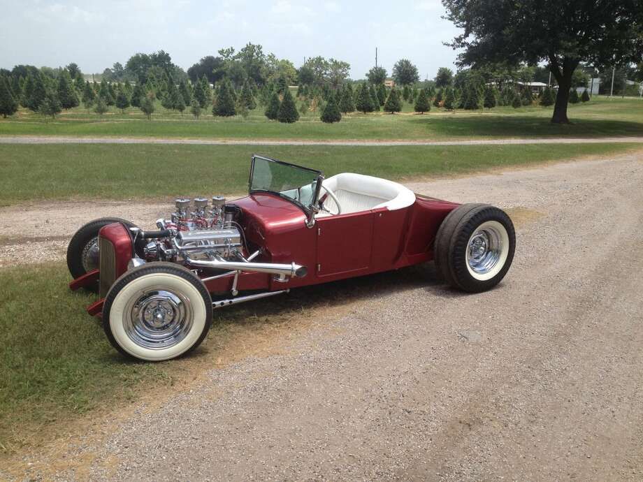 "Kyle Kleb and his father, Wayne, decided that they were going to build a hot rod together. It was a replica of the roadster the elder Kleb had built many years ago, dubbed ""Satan's Chariot."" Photo: Courtesy Of Kyle Kleb"