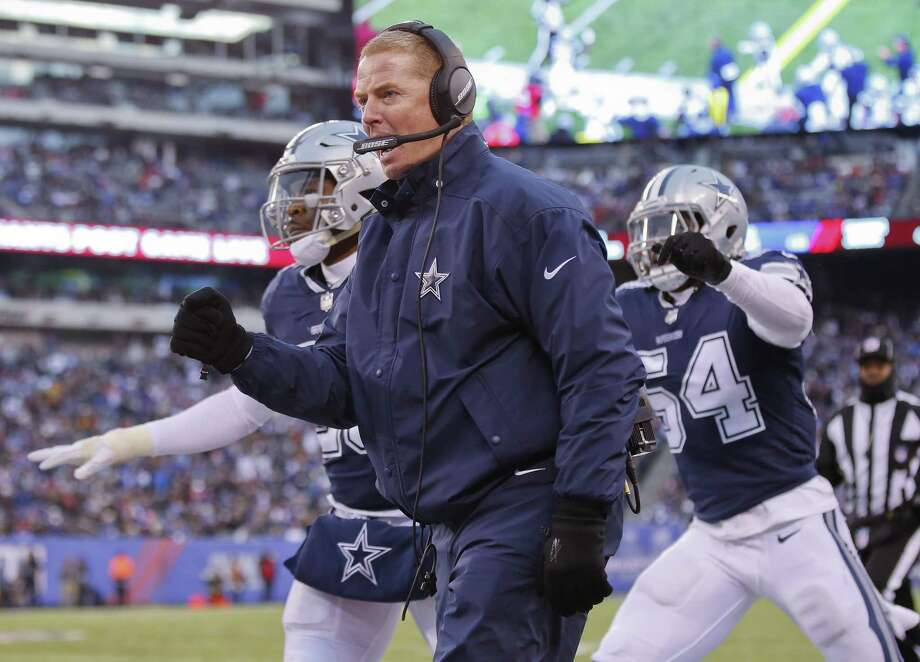 Jason Garrett had a rough season coaching the Dallas Cowboys. Photo: Adam Hunger /Associated Press / FR110666 AP