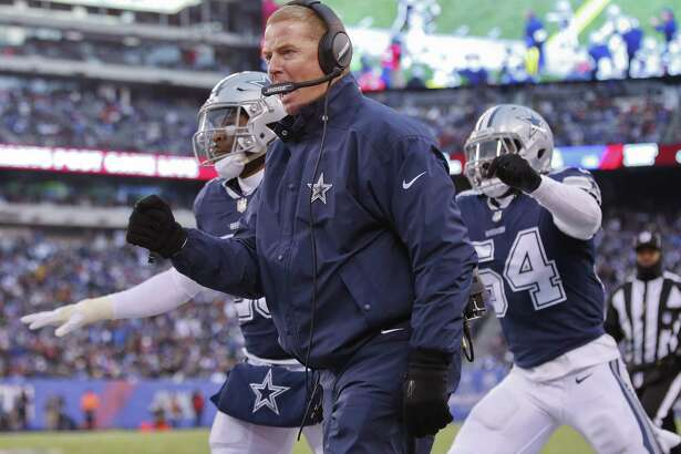 Jason Garrett had a rough season coaching the Dallas Cowboys.