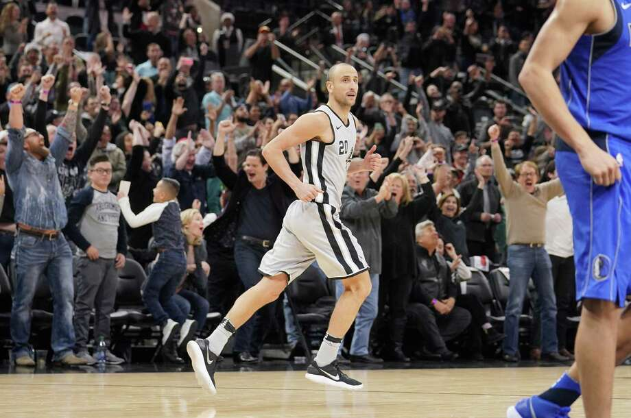 Manu Ginobili's hot start this season has fueled speculation he could return for another season. Photo: Darren Abate /Associated Press / FR115 AP