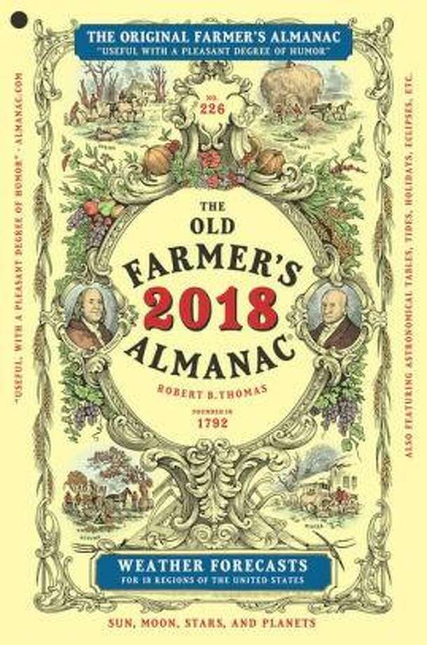 The Farmer's Almanac 2018 contains everything from moon charts to folksy anecdotes. Photo: Courtesy Photo