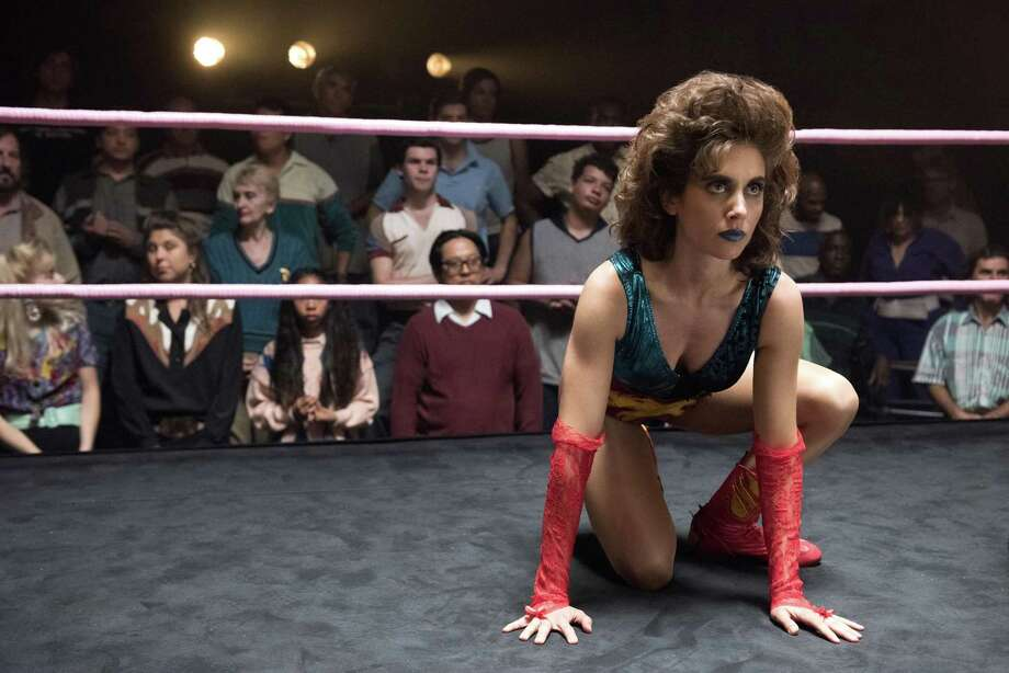 """Click ahead to view the 10 best TV shows of 2017, according to Jeanne Jakle.10. """"GLOW"""" (Netflix) Photo: Erica Parise /Netflix"""