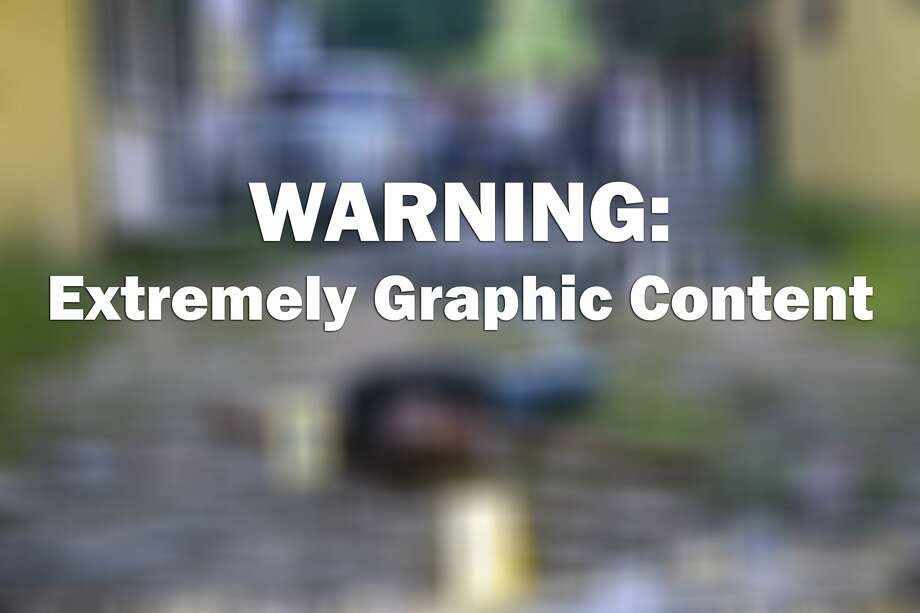 WARNING: The following images depict extreme graphic images of violent crimes. Readership discretion is strongly advised. Photo: FRANCISCO ROBLES/AFP/Getty Images