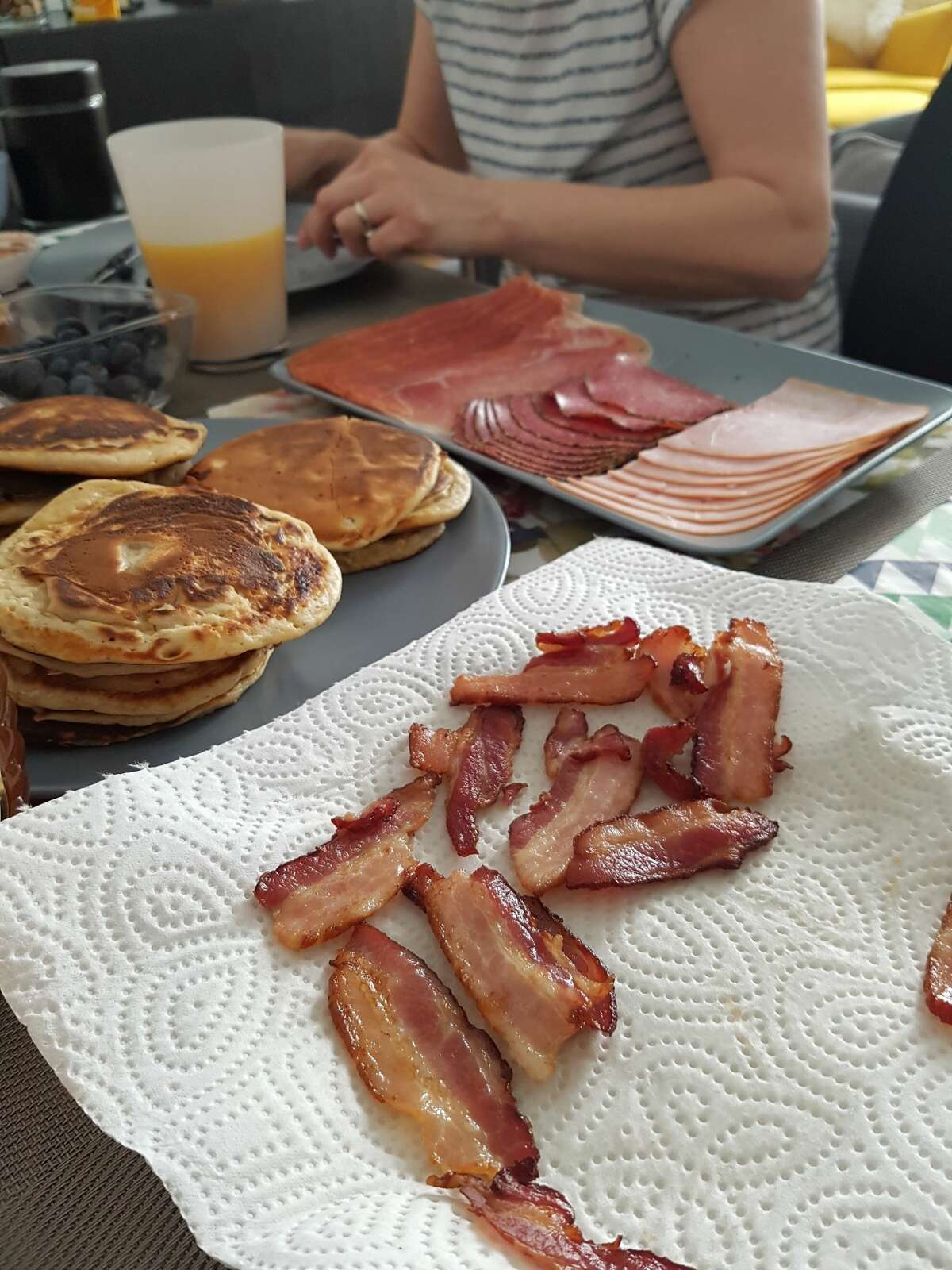 16 percent of Americans say they can't live without bacon in some form. Source: NationalToday.com