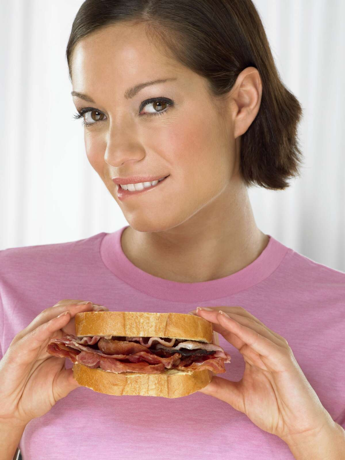 21 percent of Americans say they would eat bacon every day for the rest of their life. We'd like to know if they have health insurance. Source: NationalToday.com