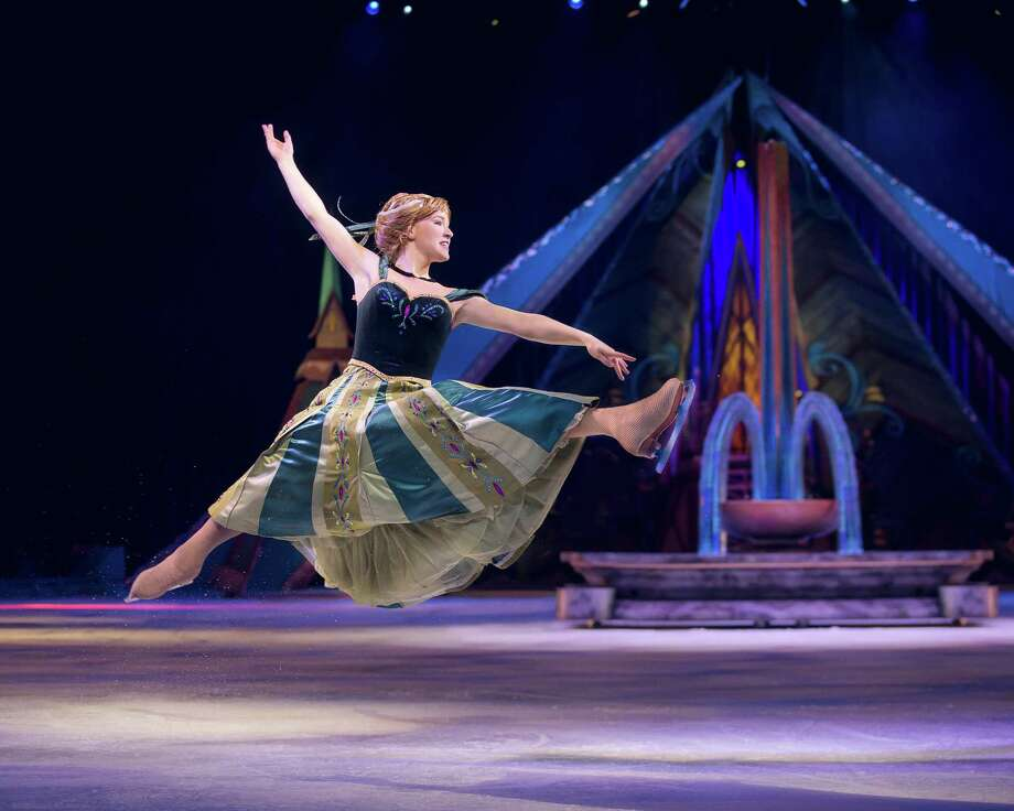 """Disney on Ice's """"Frozen"""" comes to Bridgeport's Webster Bank Arena Jan. 4-7. Mickey and friends will make cameo visits. Photo: Disney On Ice / Contributed Photo"""