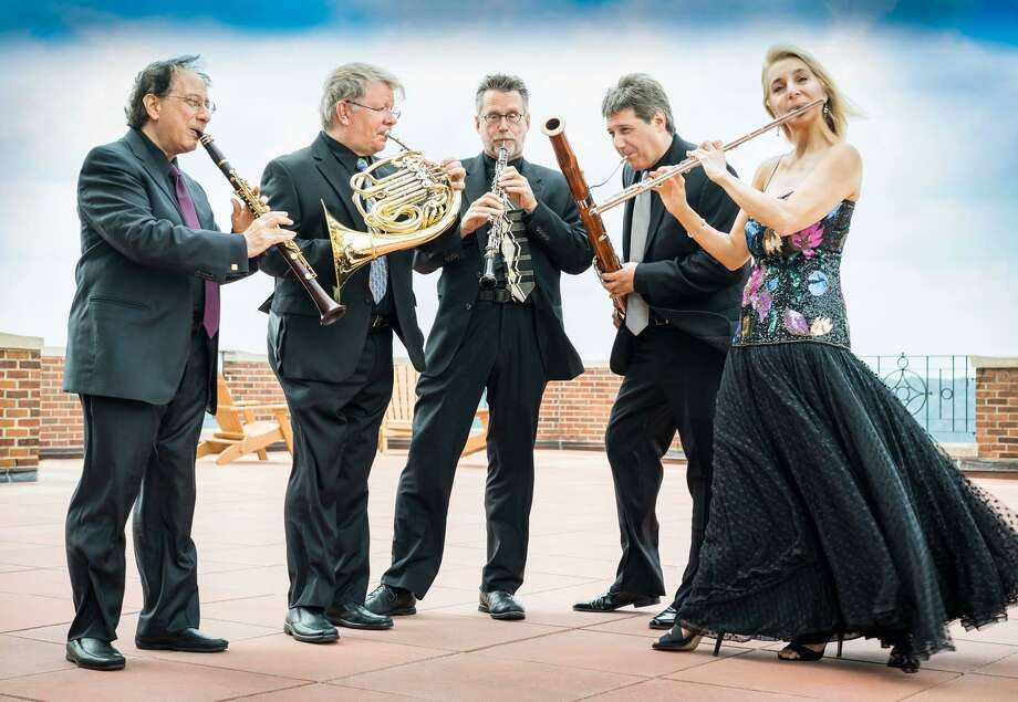 The New York Woodwind Quintet will be at Valley Regional High School in Deep River Jan. 7. Photo: New York Woodwind Quintet / Contributed Photo