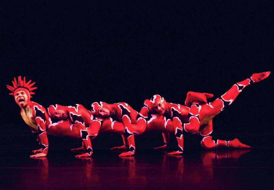 "MOMIX will present ""Opus Cactus"" at Torrington's Warner Theatre on Jan. 6 and 7. Photo: Don Purdue / Contributed Photo"