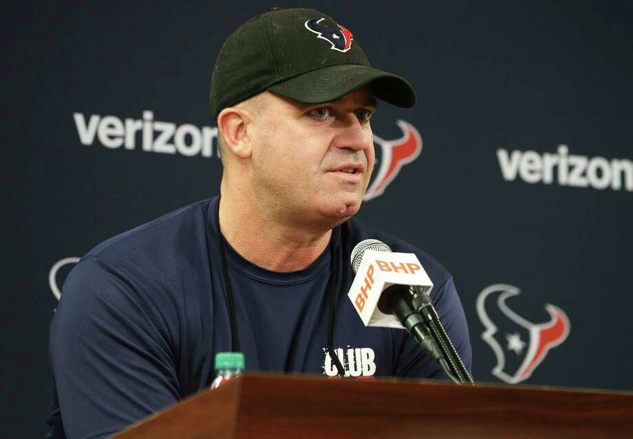 Houston Texans head coach Bill O'Brien speaks about the team during a press conference at NRG Stadium on Wednesday, Nov. 29, 2017, in Houston. ( Yi-Chin Lee / Houston Chronicle ) Photo: Yi-Chin Lee, Houston Chronicle / © 2017  Houston Chronicle