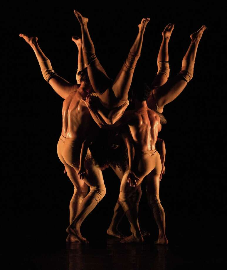 "Pilobolus performs ""Branches"" during the American Dance Festival in Durham, N.C., in June. The company will perform the piece on Jan. 6 in Danbury. Photo: Ben McKeown / Contributed Photo"