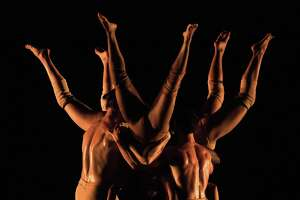 "Pilobolus performs ""Branches"" during the American Dance Festival in Durham, N.C., in June. The company will perform the piece on Jan. 6 in Danbury."