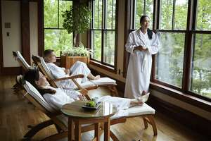 Spa treatments are just part of the draw at Mohonk Mountain House. (Provided photo)