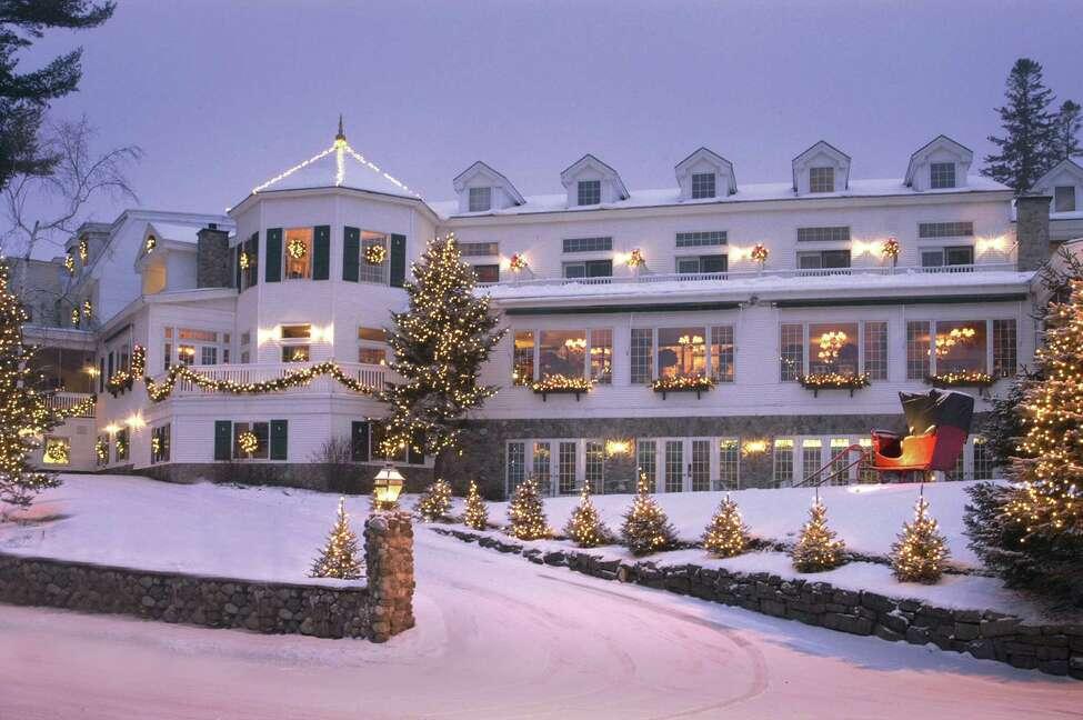 The Mirror Lake Inn Resort and Spa in Lake Placid. (Courtesy of the Mirror Lake Inn Resort and Spa)