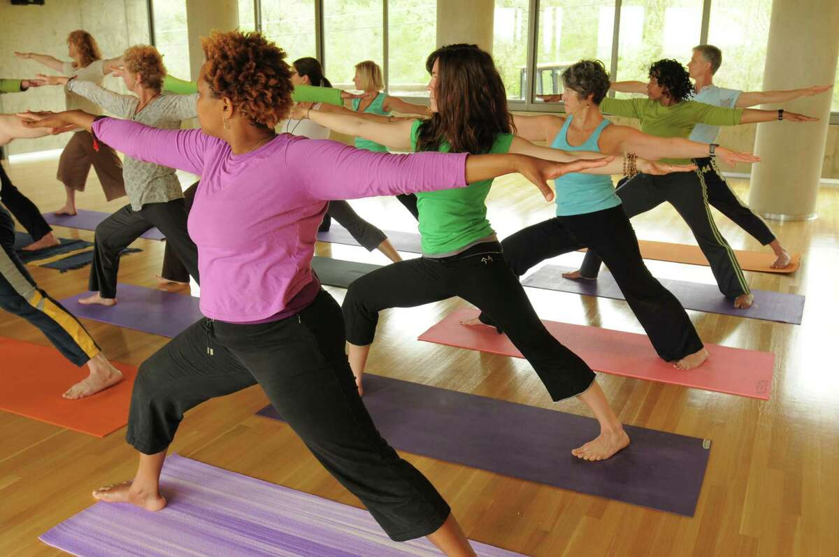 A Kripalu session, from the TU archives.