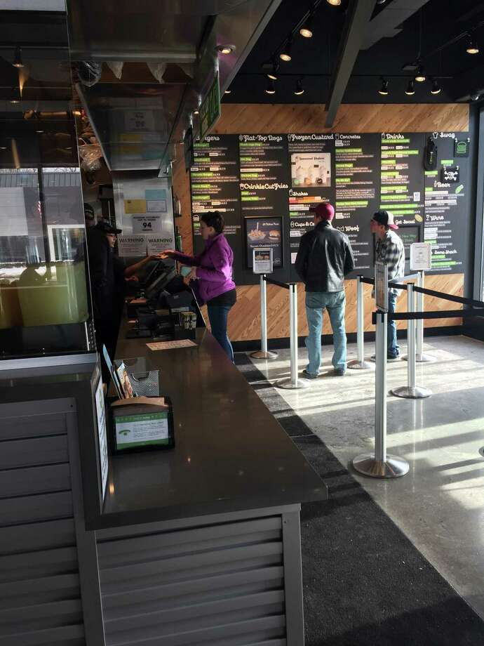 Shake Shack in Darien is open for business. Photo: Contributed Photo