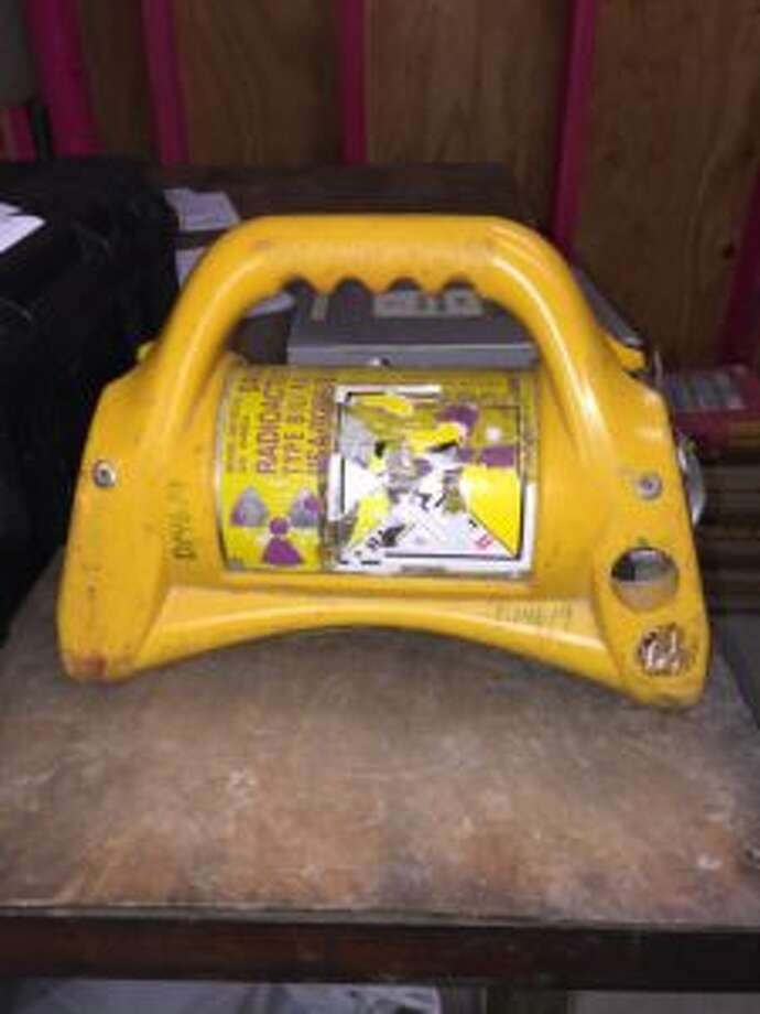 This low-grade radioactive instrument used in welding applications is missing, according to Beaumont Emergency Management. Photo: Beaumont Police Department