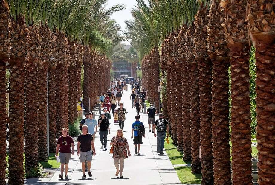 The Arizona Legislature has cut funding by 40 percent for its public universities, including Arizona State in Tempe. Photo: Bonnie Jo Mount, Washington Post