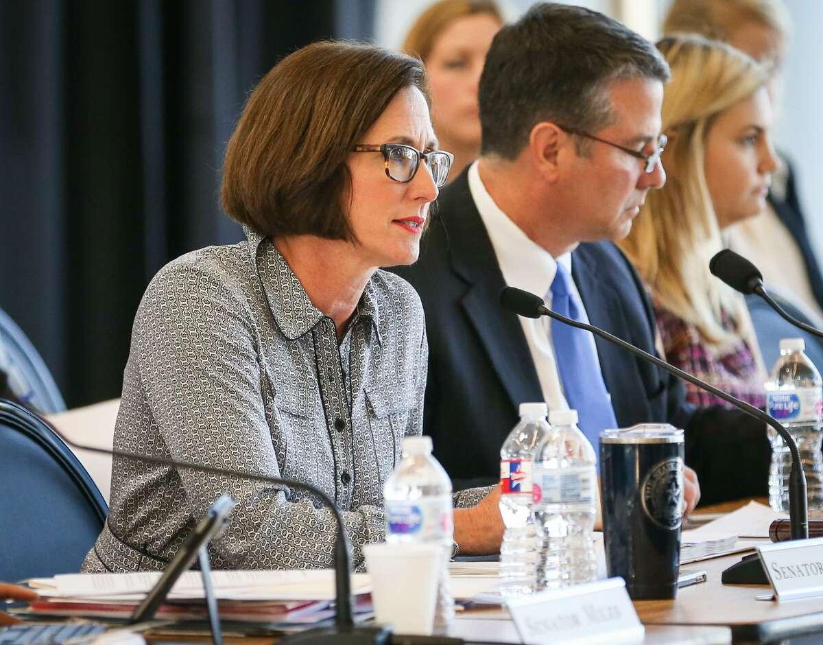 State Sen. Lois Kolkhorst (left) has taken a leadership role in addressing sexual harassment claims in the Legislature.