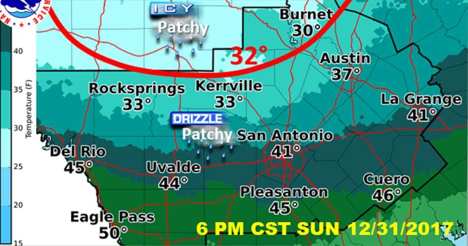 Nws Images Show When Cold Blast Icy Conditions Are Likely