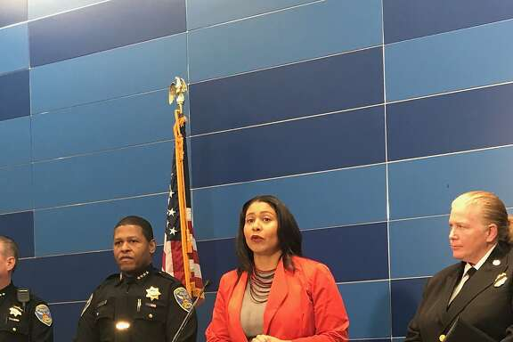 San Francisco Police Chief William Scott and Acting Mayor London Breed discussed security plans for New Year's Eve at a news conference at San Francisco Police Headquarters.