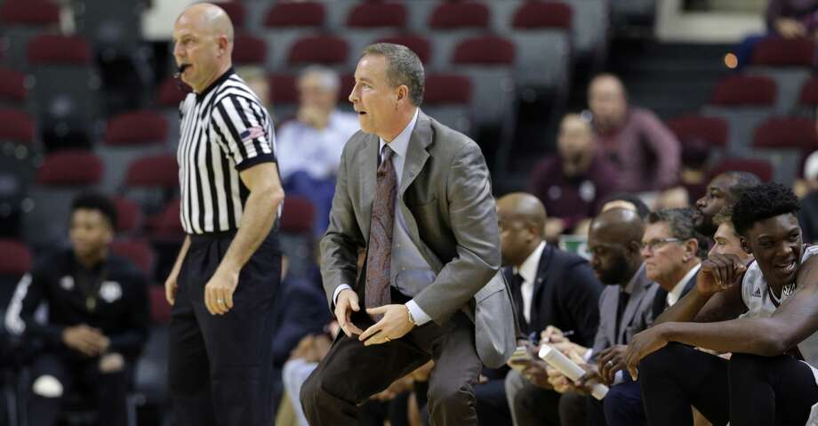 """Texas A&M coach Billy Kennedy said it's time for the Aggies to move into a """"new season"""" – the start of Southeastern Conference play at 5 p.m. Saturday at Alabama. Photo: Michael Wyke/Associated Press"""