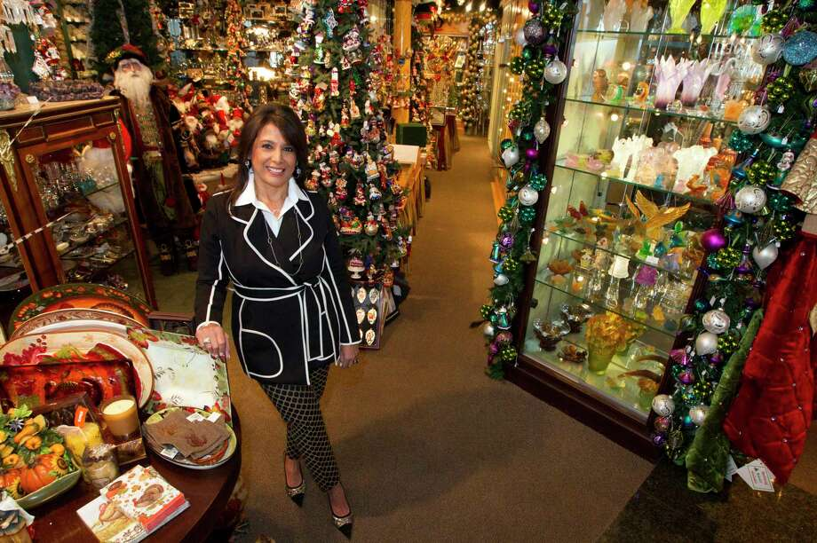 Regina Garcia, owner of Events in the River Oaks Shopping Center, says the new location on Westheimer will have a more open layout. Photo: J. Patric Schneider, Freelance / Â 2013 Houston Chronicle