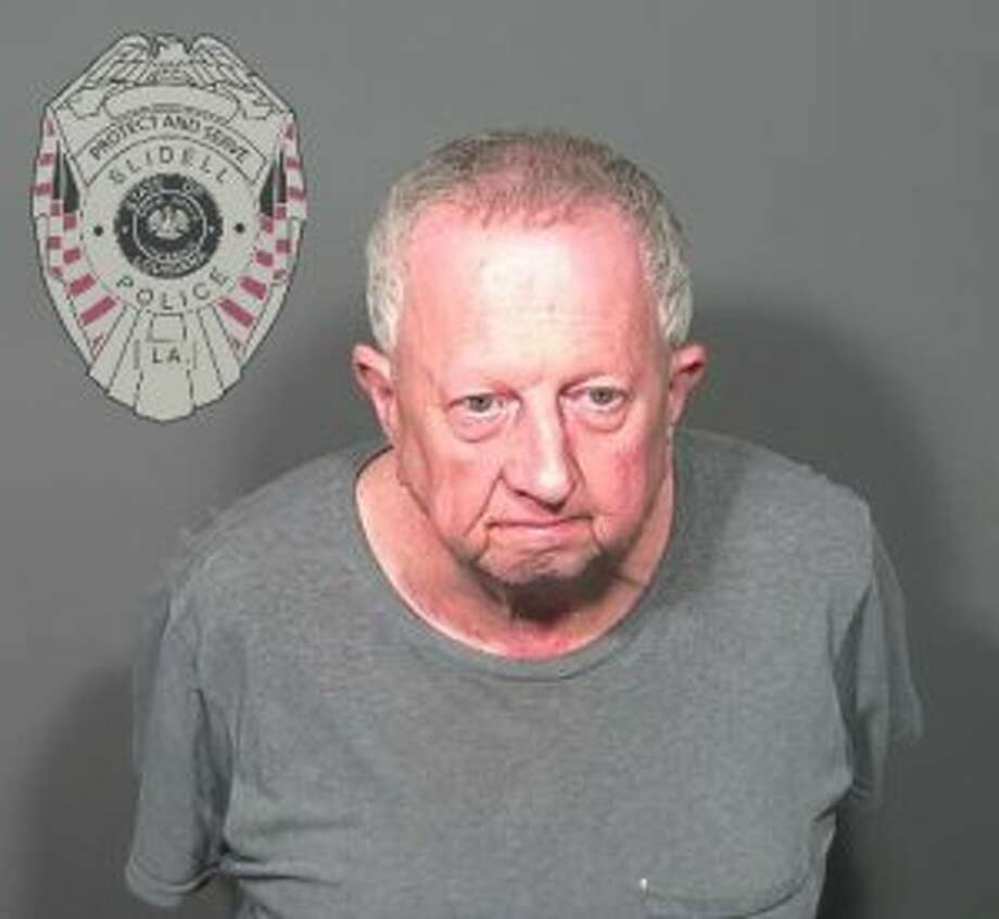 """Michael Neu of Slidell, La., has been charged with wire fraud and money laundering in a """"Nigerian prince"""" scam operation. Photo: Slidell, La., Police Department"""