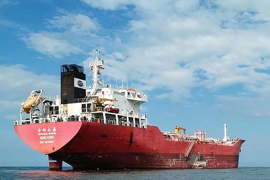 An undated photo of the Lighthouse Winmore, a Hong Kong-flagged vessel suspected of transferring oil to North Korea in violation of United Nations sanctions.  South Korea has seized the oil tanker, accused of transferring 600 tons of refined oil to a North Korean ship in October of 2017, South Korean officials said on Dec. 29, 2017. (Iwan Afwan/MarineTraffic via The New York Times) -- NO SALES; FOR EDITORIAL USE ONLY WITH KOREAS SHIP SEIZED BY CHOE SANG-HUN FOR DEC. 29, 2017. ALL OTHER USE PROHIBITED. -- Photo: IWAN AFWAN/MARINETRAFFIC / IWAN AFWAN/MARINETRAFFIC
