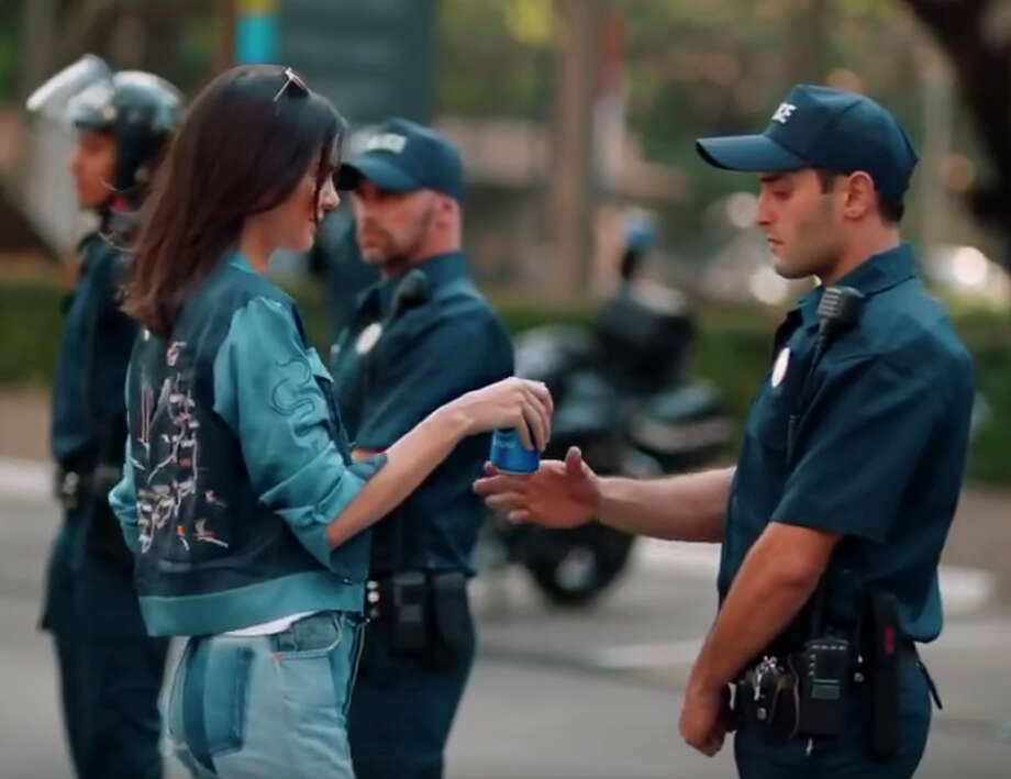 Pepsi faced an international backlash for its ad in April featuring model Kendall Jenner. / handout