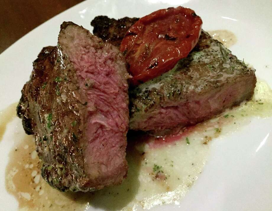 The 12-ounce center cut strip at Silo Prime is sourced from Allen Brothers. Photo: Paul Stephen / San Antonio Express-News