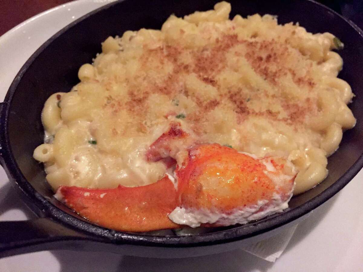 Truffle Mac 'N Cheese with lobster at Silo Prime.