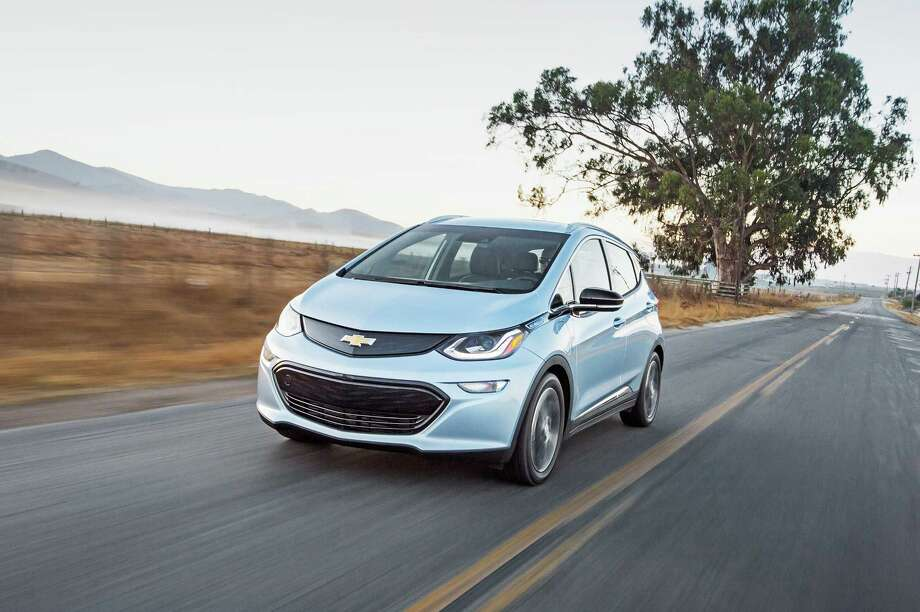 The 2017 Chevrolet Bolt EV. (Chevrolet) Photo: Chevrolet, HO / Los Angeles Times