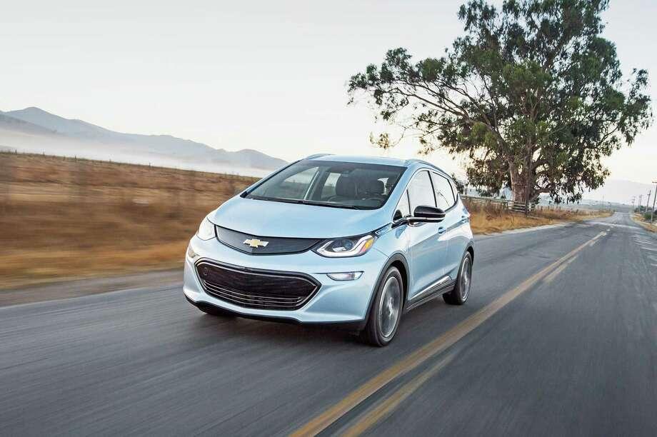 The 2017 Chevrolet Bolt EV. (Chevrolet) Photo: Chevrolet, HO / Los Angeles Times