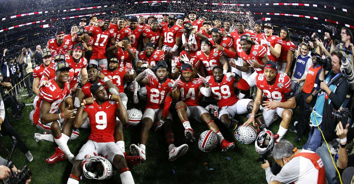 BETTING ODDS ON 2018-19 COLLEGE FOOTBALL PLAYOFF CHAMPION Ohio State 8-to-1