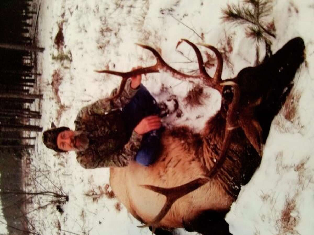 After Walt Smith of Hopedrew a late-season elk tag, heshot this 6x6 elk with hislate son Jeremy Smith's .338 rifle on Dec. 10onCanada Creek Ranch in Atlanta, Mich. (Photo provided)