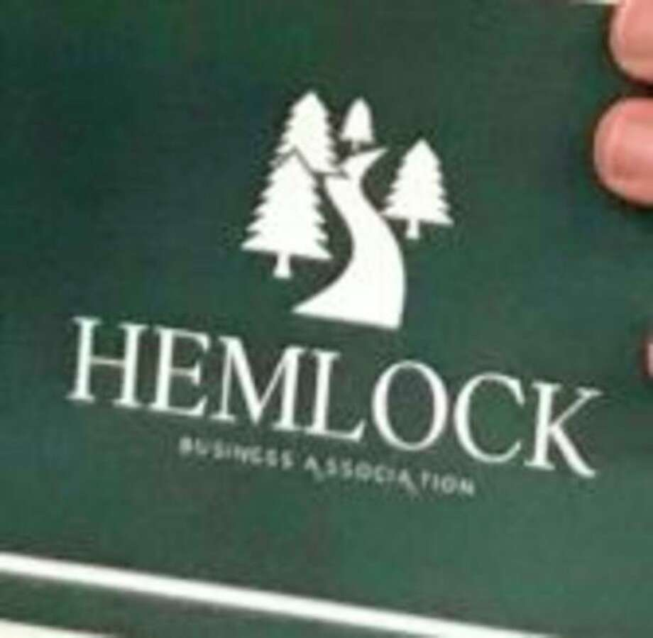 The Hemlock Business Association selected this new logo submitted by Coryn Boyke, a Hemlock High School student. (Photo provided)
