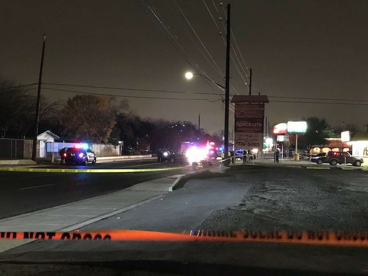 San Antonio police say speed was a factor in a fatal wreck on the Northside Friday evening Dec. 29, 2017, when a male motorcyclist hit a vehicle turning into a restaurant.